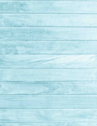 Lighter Sky Blue Wood Floor Texture Backdrop For Baby Photography - Shop Backdrop