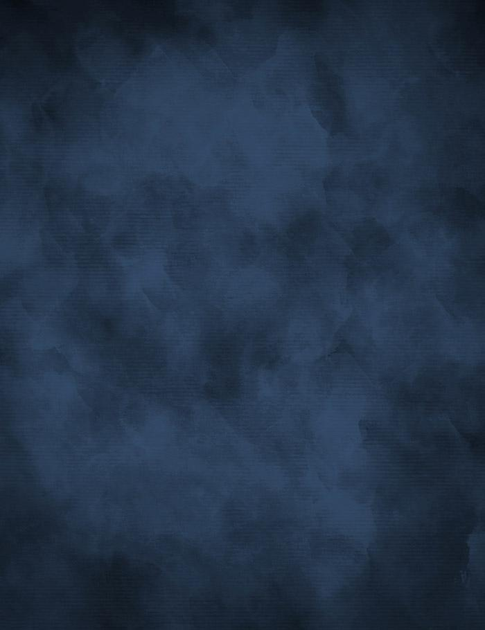 Midnight Blue With Little Black Abstract Photography Backdrop J-0512