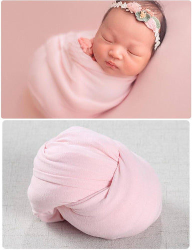 Milk Velvet Fabric Newborn Wrap Photo Props