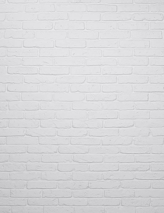 Milk White Paint Brick Wall Texture For Photography Backdrop