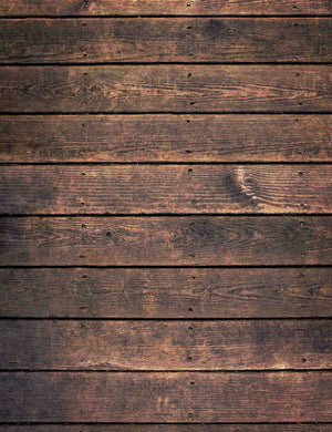 Moldy Brown Printed Wood Floor Texture Backdrop For Photography