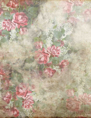 Moldy Red Rose Wallpaper Backdrop For Photography