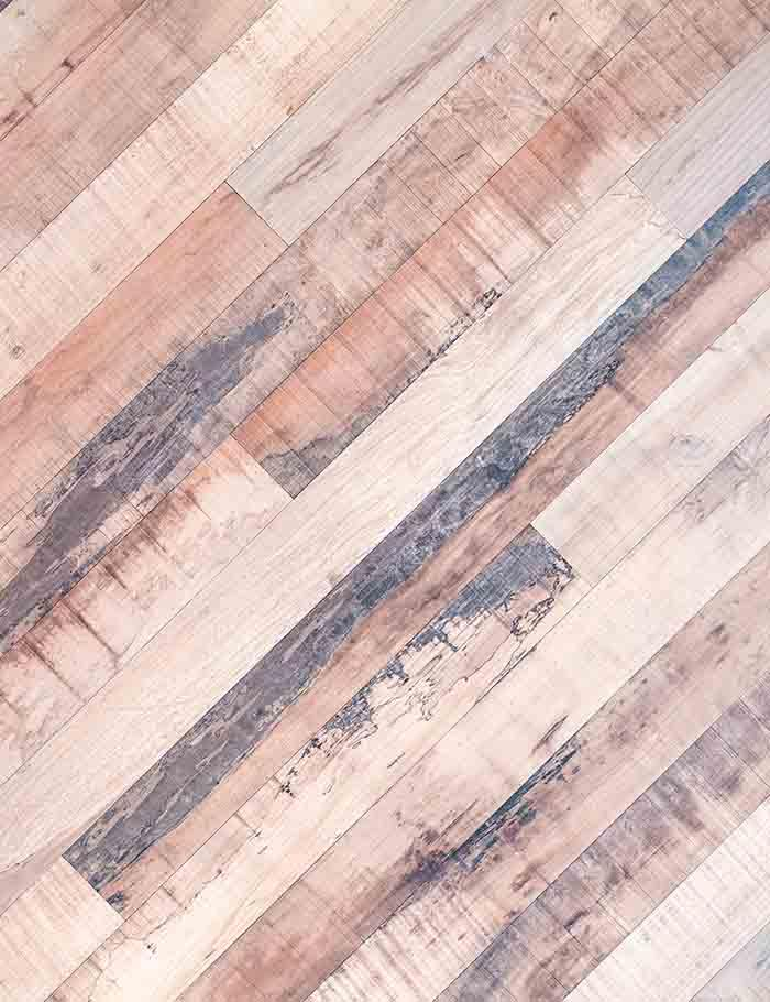 Natural Narrow Wooden Floor Mat Photography Backdrop J-0302