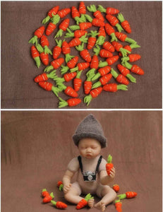 Newborn Carrot Ornaments Photography Props Shopbackdrop