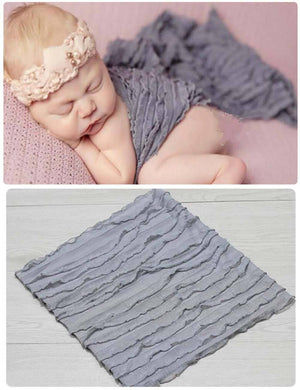 Newborn Wavy Wrapped Yarn Wraps Photography Props