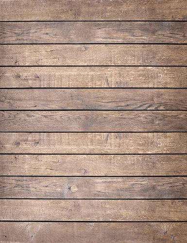 Old Brown Wooden Floor Mats Photography Backdrop J-0050