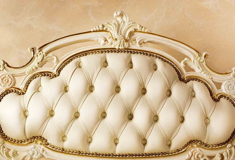 Old Lace Headboard With Mable Wall Photography Backdrop J-0049
