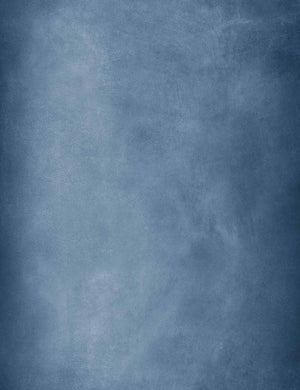 Old Master Pale Denim Blue With  Detail Texture Backdrop  For Photography Q-0575