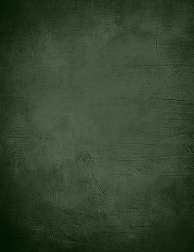 Old Master Printed Dark Green Black Around Edges Photography Backdrop J-0407