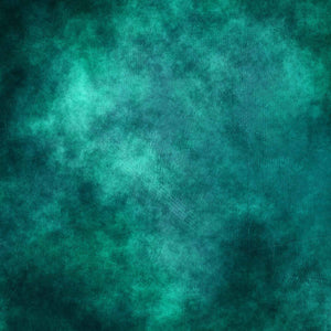 Old Master Printed Sea Green Dark Around Edges Photography Backdrop -