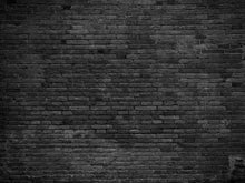 Old Master Printed Warm Dark Brick Wall Texture Backdrop Photography
