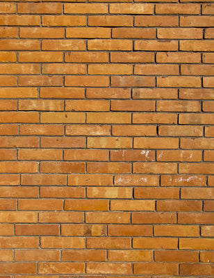Old Orange Brick Texture Wall Photography Backdrop J-0466