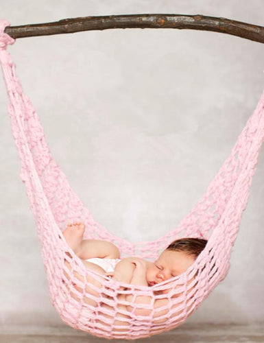 Wool Knitted Hammock For Newborn Photography Props(Multiple Color)