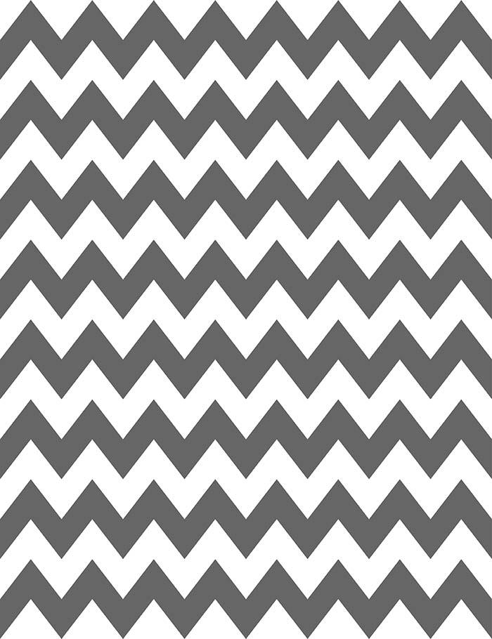 Painted Black And White Chevron For Birthday Photography Backdrop J-0068