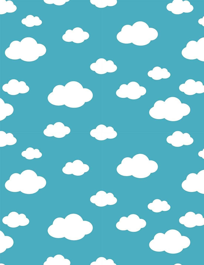 Painted Cloud For Baby Photography Backdrop