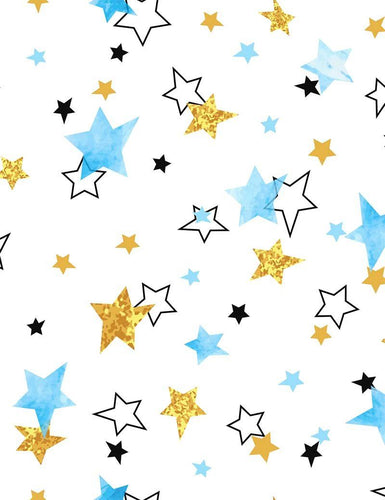 Painted Colorful Star For Baby Holiday Photography Backdrop