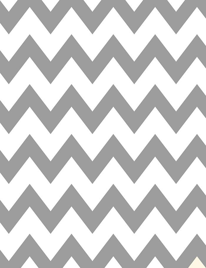 Painted Gray And White Chevron Backdrop For Birthday Photography J-0069