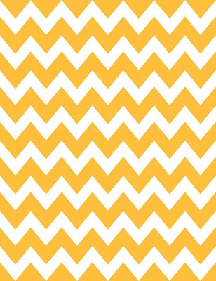 Painted Yellow Chevron For Halloween Holiday Photography Backdrop J-0249