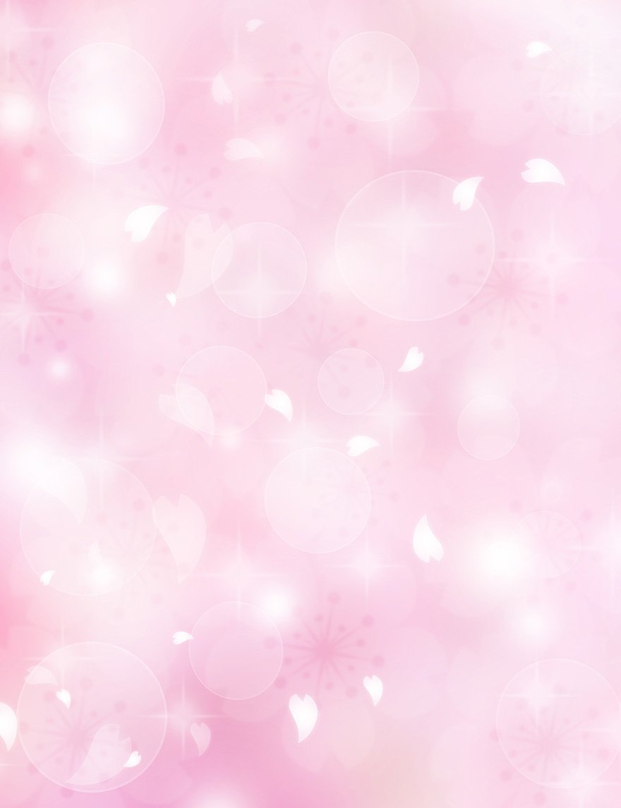 Pink Abstract Bokeh Backdrop For Holiday Photography