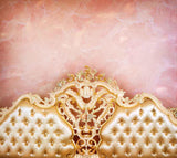 Pink Marble Wall Headboard Texture With Decorative Photography Backdrop J-0109