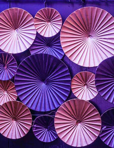 Pink Purple Pinwheels Wall For Wedding Photography Backdrop J-0135