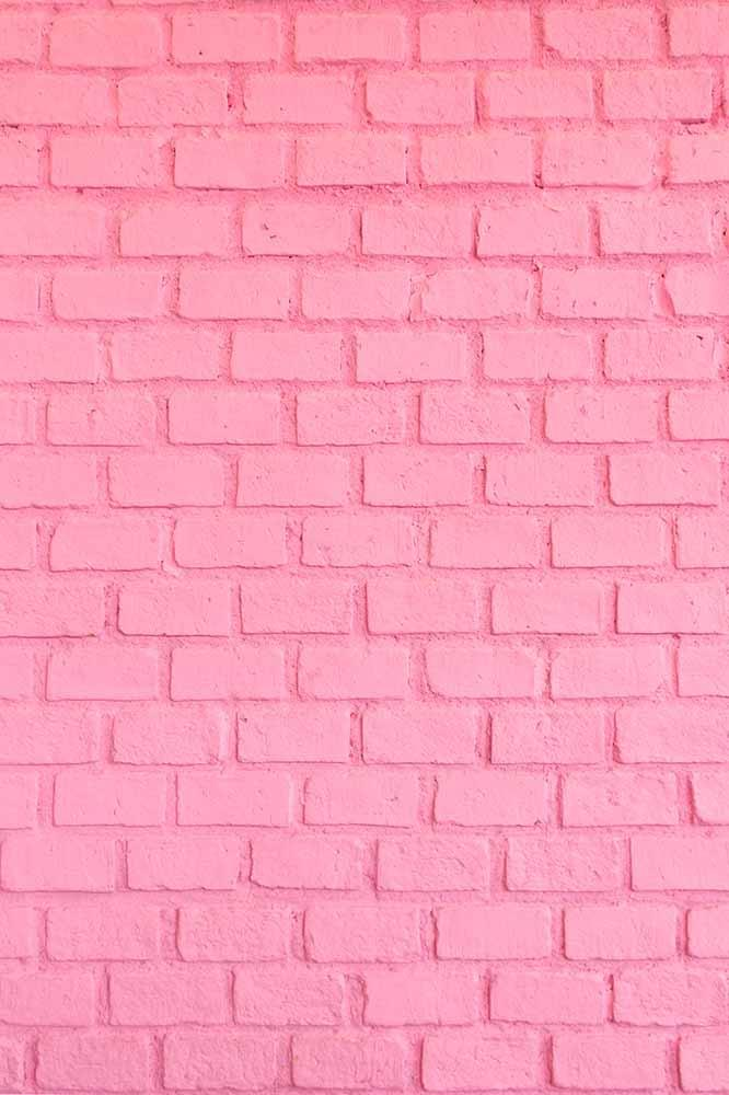 Pink Stucco Brick Wall Texture For Wedding Photo Backdrop