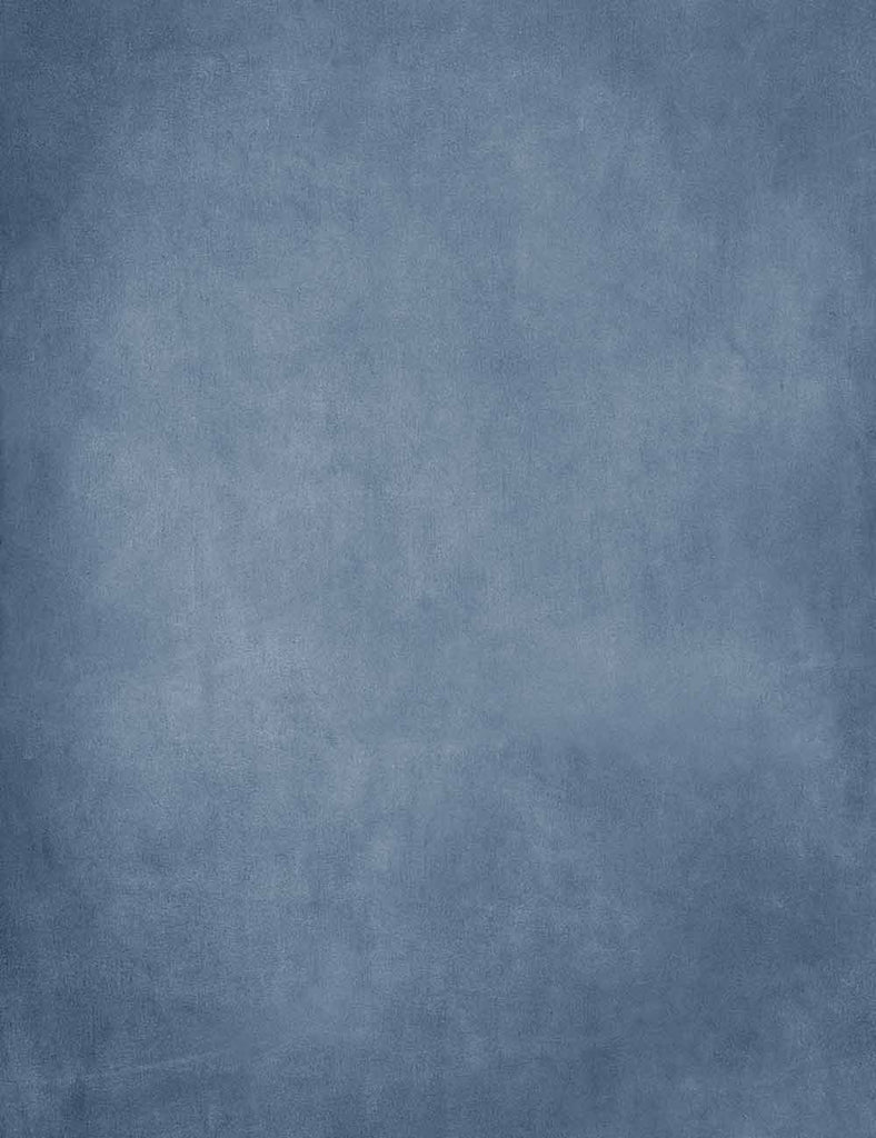 Pinted Old Master Blue Texture Backdrop For Photography
