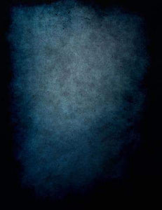 Printed Blue Texture Old Master Photography Backdrop J-0789
