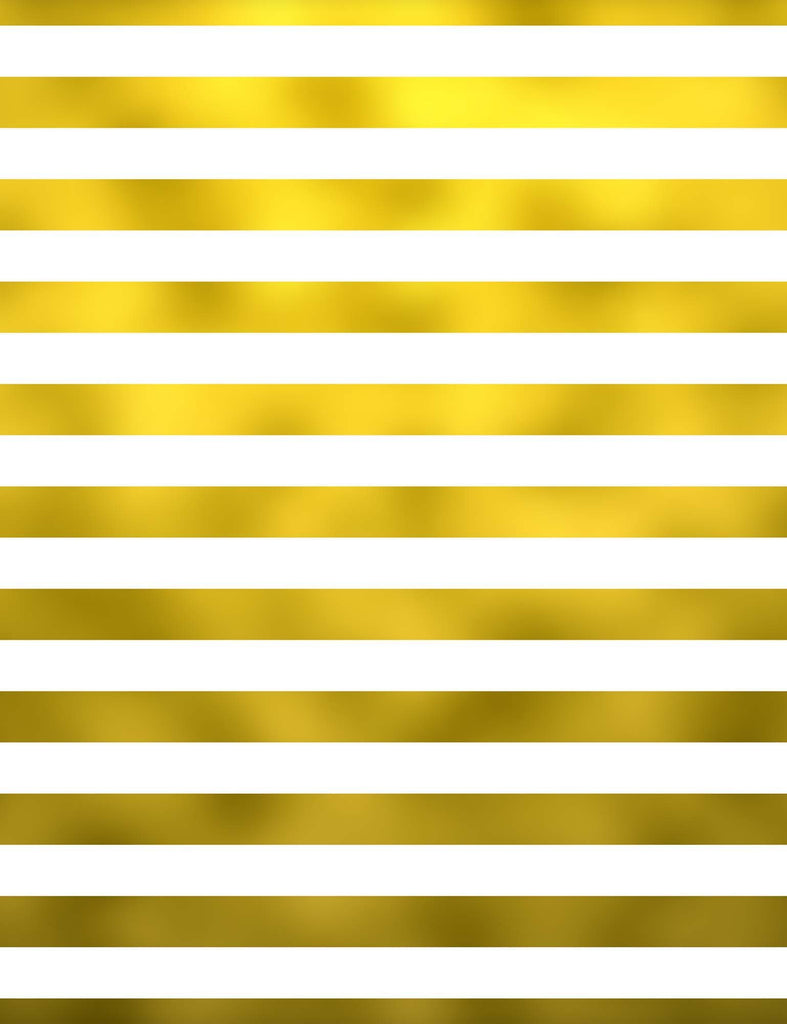 Printed Gold Stripes Photography Backdrop For Kid Backdrop