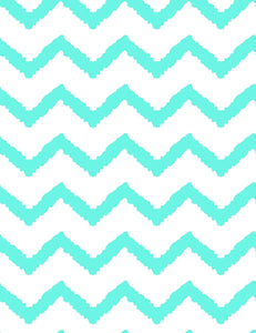 Printed Green Chevron Photography Backdrop