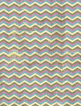 Printed Old Master Colorful Chevron Backdrop For Children Photo