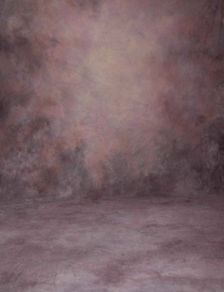 Printed Old Master Deep Old Rose Abstract Backdrop For Photography