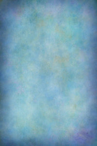 Printed Old Master Pale Blue With Little Yellow Backdrop For Photography - Shop Backdrop
