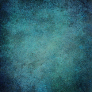 Printed Old Master Retro Dark Cyan Wall Backdrop For Photography