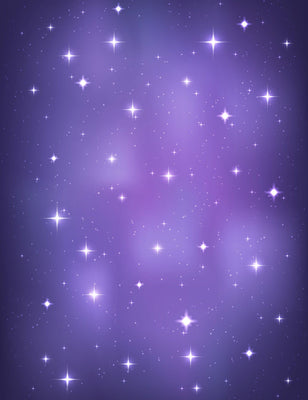 Purple Vast Universe Starry Sky Bokeh Background For Baby Backdrop