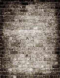 Retro Brick Wall Light In Center Photography Backdrop J-0043