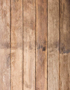 Retro Brown Wood Floor Texture Photography Backdrop J-0530