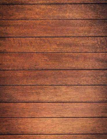 Retro Chocolate Wood Floor Texture Photography Backdrop