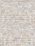Retro Cornsilk Brick Wall Texture Backdrop For Photography