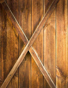 Retro Farme Wood Wall Texture Photography Backdrop J-0446