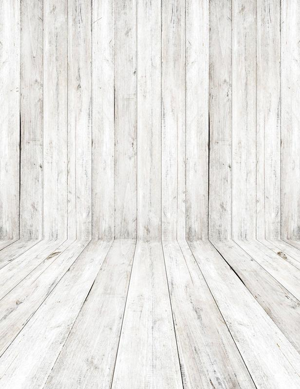 White Wood Floor Texture Retro Gray Backdrop For Photography S 2606