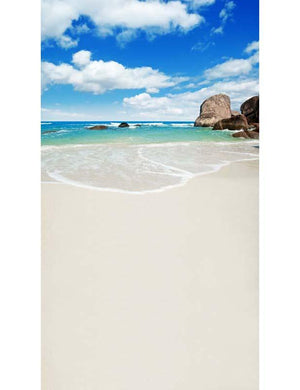 Sea Beach Reef Backdrop For Childern Summer Holiday Photography F-2606