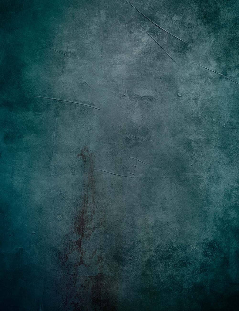 Senior Blue Abstract Texture Photography Backdrop J-0781