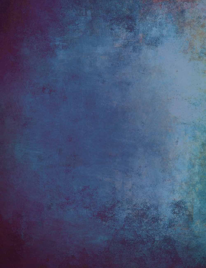 Senior Marine Blue Abstract Backdrop For Photography