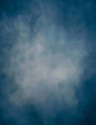 Shop Abstract Cold Blue Gray  In Center Photography Backdrop J-0428