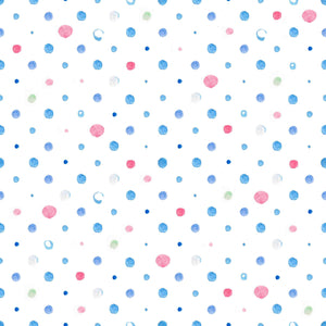 Colorful Polka Dots Printed Background Photography Backdrop - Shop Backdrop