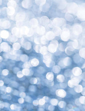Silver Bokeh Sparkle With Some Blue Background For Holiday Backdrop