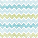 Sky Blue And Yellow Textile Texture Chevron Printed Backdrop