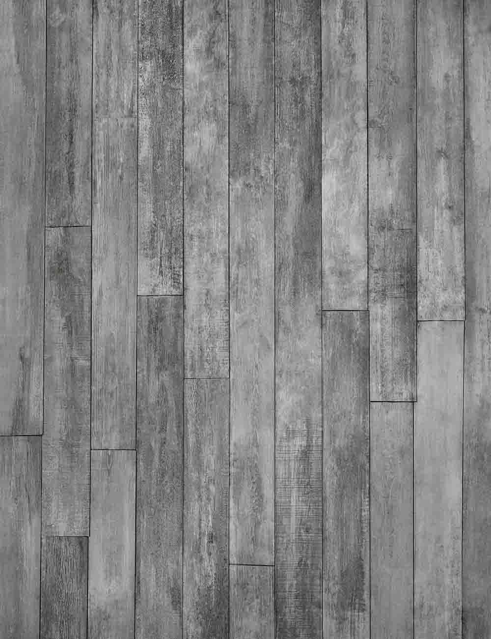 Slate Gray Wood Planks Floor Mats Texture Photography Backdrop Q-0590