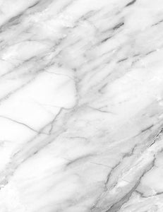 Smoke White Marble With Gray Texture Photography Backdrop  J-0231